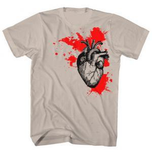 Anatomical Heart Shirt Bleeding Hea..