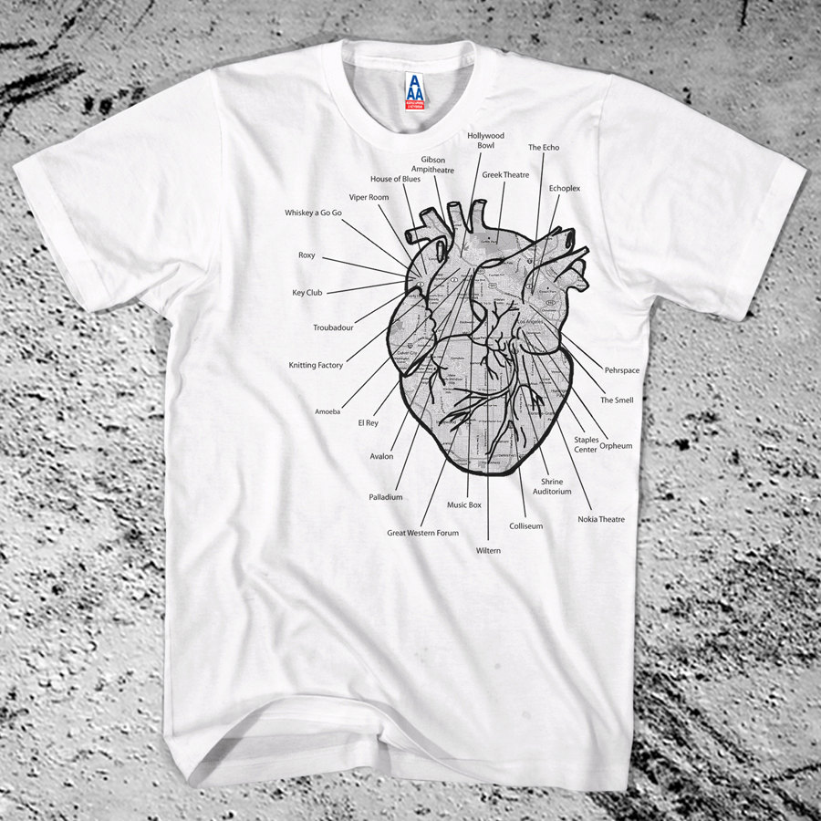 New i heart la shirt los angeles music venues diagram map schematic new i heart la shirt los angeles music venues diagram map schematic free ship ccuart Image collections